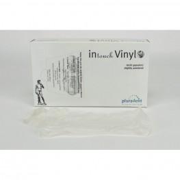 Intouch Vinyl Handschuh puderarm S