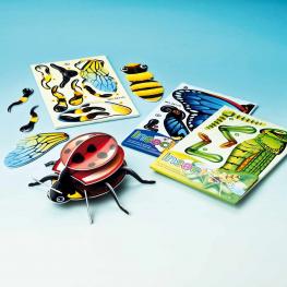 3-D-Steckpuzzle Insekten