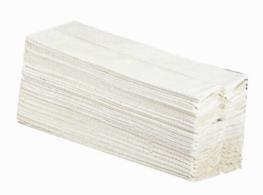 Papierhandtücher weiß 2-lagig 25 x 23cm