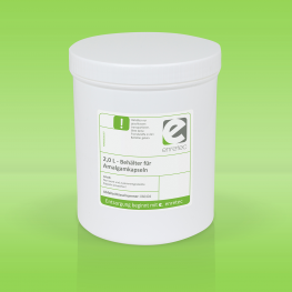 Abfallsammelbehälter für leere Amalgamkapseln, 2 L