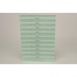 Alphabetleisten DIN A5 Packung 10 Stück blau Spitta Verlag