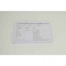 Formulare 100 St. Anmeldeformular Zahnarztpr. A5 Spitta Verlag