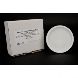 Asphalin Schalen Stück aus Opalglas, autoklavierbar Becht