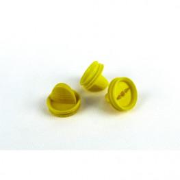 Filterdeckel gelb St
