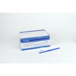 UNIBRUSH Einmal Zahnbürsten Box 100 St. blau Unigloves