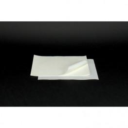 Tray-Filterpapier 18x28cm weiß
