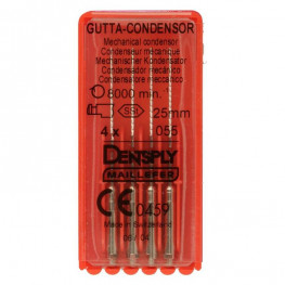 Gutta-Condensor Packung 4 Stück 25 mm ISO 055 Dentsply Sirona