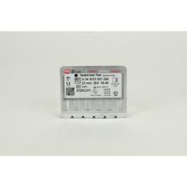 STERILE Hedstroem Feilen 6 Stück 21mm ISO 015-040 VDW