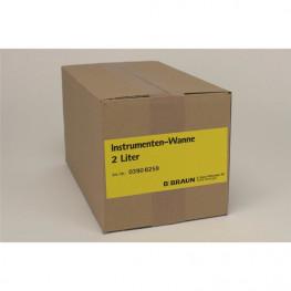 Instrumenten-Wanne Stück 2 Liter B. Braun