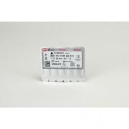 STERILE K-Bohrer Blister 6 Stück 25mm ISO 010 VDW