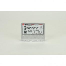 STERILE K-Bohrer Blister 6 Stück 25mm ISO 035 VDW