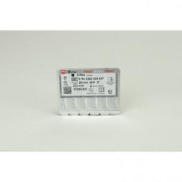 STERILE K-Feilen Blister 6 Stück 25 mm ISO 017 VDW