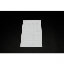 Krankenblatt Block 100 St. B, A5 Spitta Verlag