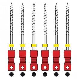 Mani Hedströmfeile Handgebrauch 25mm ISO 25 rot
