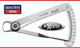 Messzirkel Iwanson - METALL -  Tasterzirkel Edelstahl - Zahntechnik  Dental