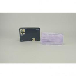 Monoart Mundschutz Protection 3 lila Zorro z.Binden 50St