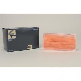 Monoart Mundschutz Protection 3 orange Zorro z.Bind.50St