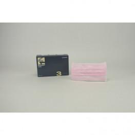 Monoart Mundschutz Protection 3 rosa Zorro z.Binden 50St
