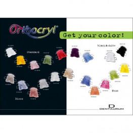 Orthocryl Farbtafel