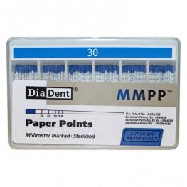 Diadent Papierspitzen farbcodiert ISO 30