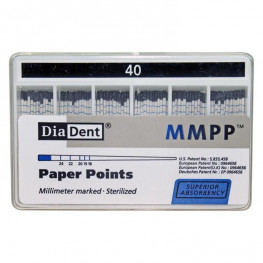 Diadent Papierspitzen farbcodiert ISO 40