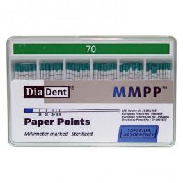 Diadent Papierspitzen farbcodiert ISO 70