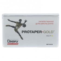 PROTAPER GOLD™ Guttaperchaspitzen Pckg. 60 St. F1 Dentsply Sirona