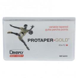 PROTAPER GOLD™ Guttaperchaspitzen Pckg. 60 St. F2 Dentsply Sirona
