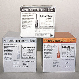 Sterican® Standardkanülen 100 St. G22 Ø 0,7 x 30 mm schwarz B. Braun