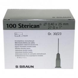 Sterican® Dentalkanülen 100 St. G27 Ø 0,4mm 30/23 B. Braun