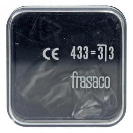 Strip-Kronen Klar Packung 5 Stück Nr. 433 Frasaco