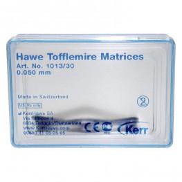 Tofflemire-Matrizen 30 St. 0,05 mm Nr. 1013/30 Kerr