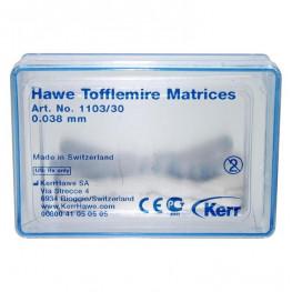 Tofflemire-Matrizen 30 St. 0,038 mm Nr. 1103/30 Kerr
