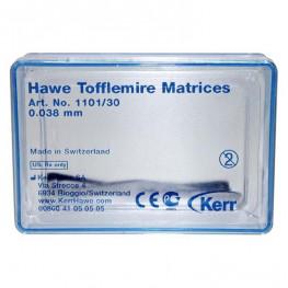 Tofflemire-Matrizen 30 St. 0,038 mm Nr. 1101/30 Kerr