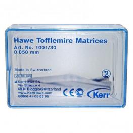 Tofflemire-Matrizen 30 St. 0,05 mm Nr. 1001/30 Kerr