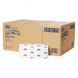 TORK® Handtuch Lagenfalzung (C-Falz) 1.400 Stück weiß 25x50cm essity