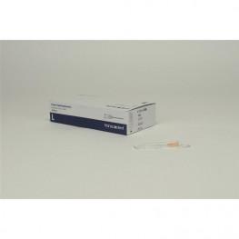 Einmal-Injektionskanülen Luer 100 St. G25 0,5x23mm Transcodent