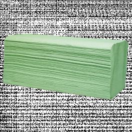 Wellsamed Papierhandtücher, 2-lagig, grün