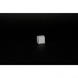 Zahnschmucksteine weiß-Diamant 1,8  5 Stück