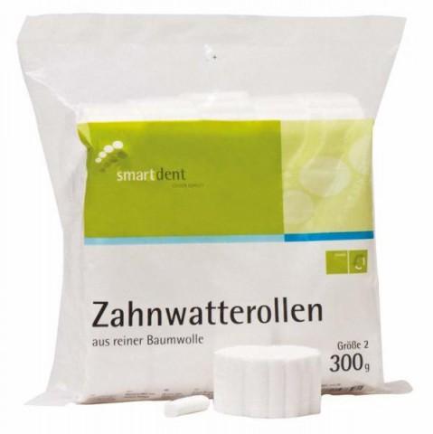 Zahnwatterollen Packung 300 g Gr. 2 smartdent