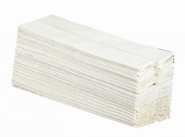 Papierhandtücher weiß 2-lagig 25 x 23cm 1