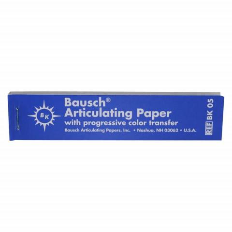 Artikulationspapier 200 µ Pckg. 300 Streifen bl.,gerade Bausch 1