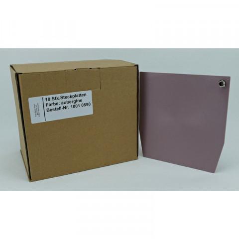 ERGOspace Pckg. 10 Steckplatten aubergine, 137x142mm KaVo