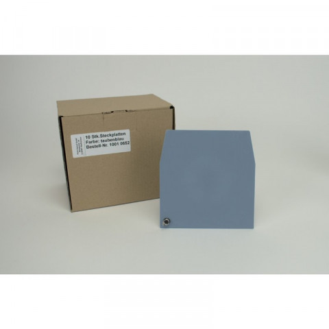ERGOspace Pckg. 10 Steckplatten taubenblau, 137x142mm KaVo