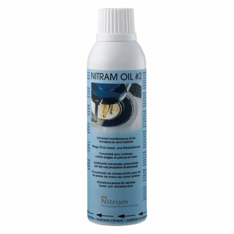 Nitram Lubricating Oil 2 blau