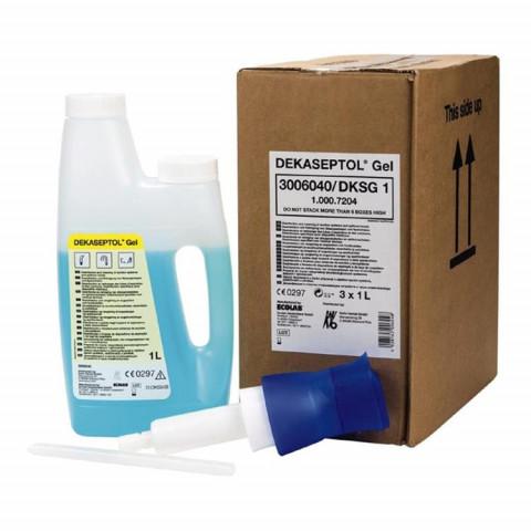 DEKASEPTOL® Gel Karton 3x1l, 1 Dosierpumpe KaVo 1