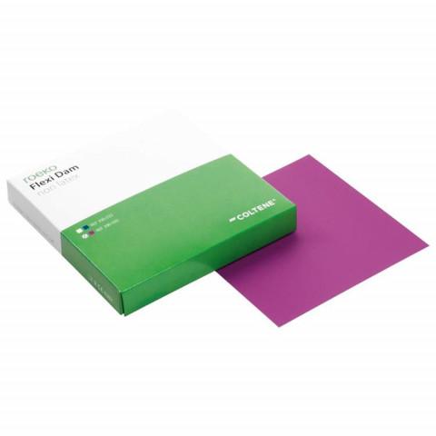 Flexi Dam non latex Pckg. 30 violett, Stärke 0,5mm Roeko 1