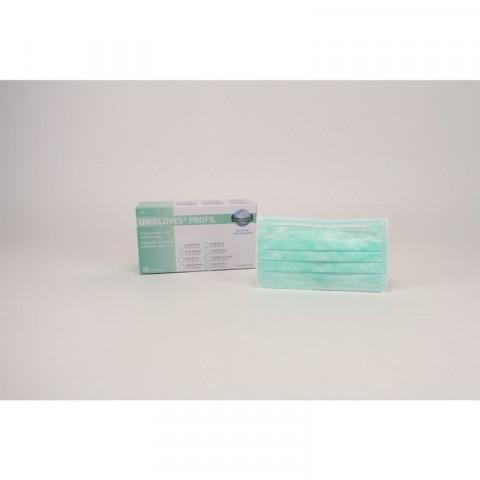 PROFIL OP-Mundschutz Spenderbox 50 St. grün Unigloves