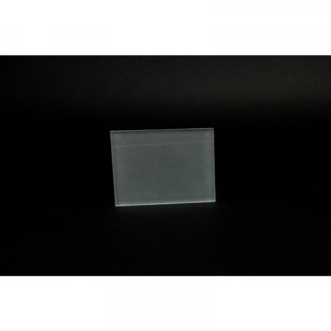 Glasplatten einseitg matt. St 1