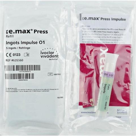 IPS e.max Press Impulse Opal 1 5St Rohlinge